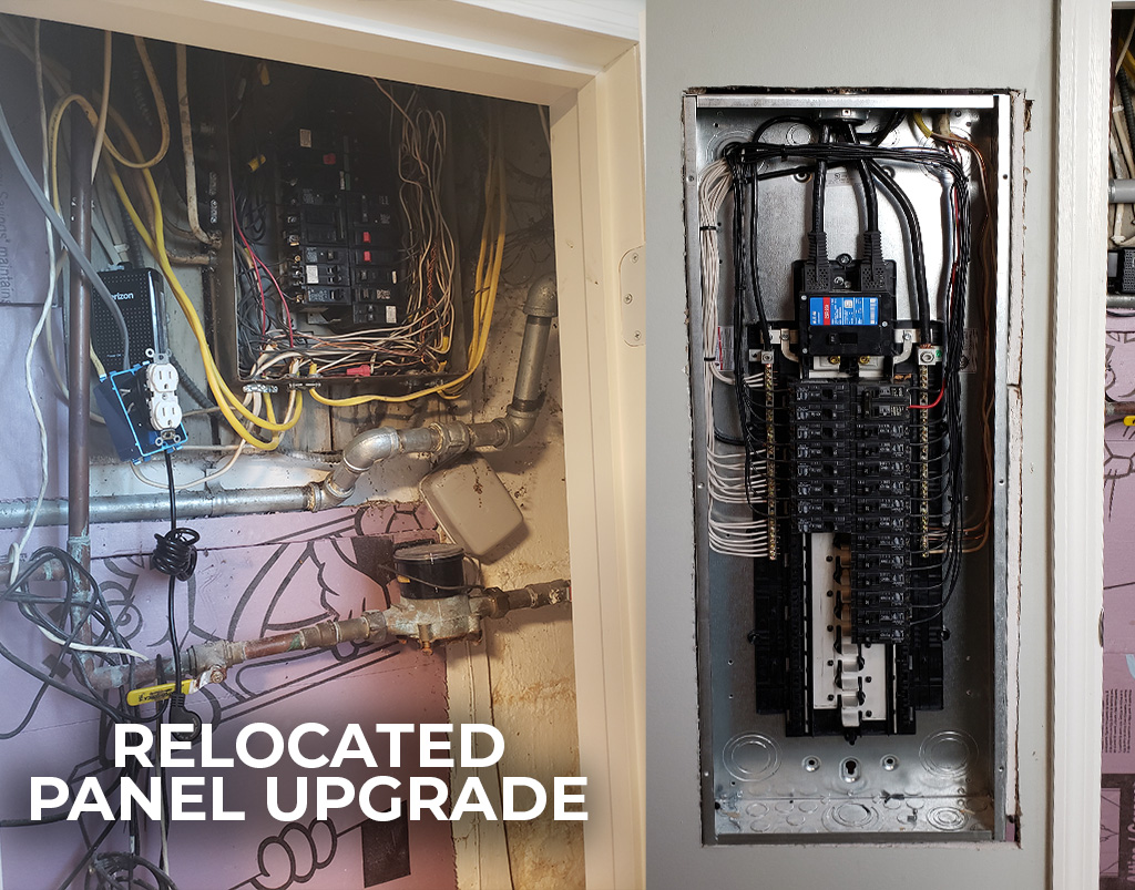 Electrical Panel Relocation